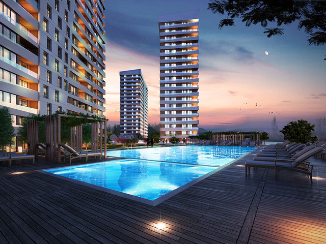 New 4 bedroom apartment in Begcilar area - Istanbul